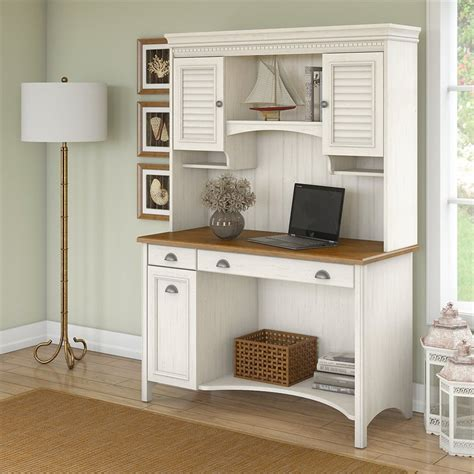 white desk with hutch and drawers bush stanford computer desk with hutch and drawers in