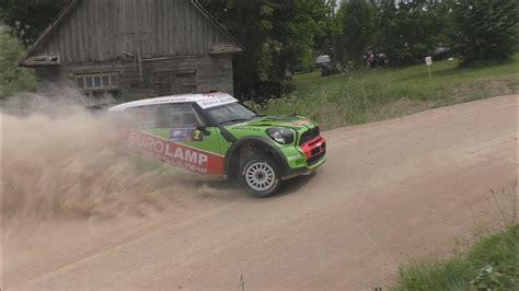 Tartu Rally 2017 Lutike Corner Action All Cars 50fps 1080p