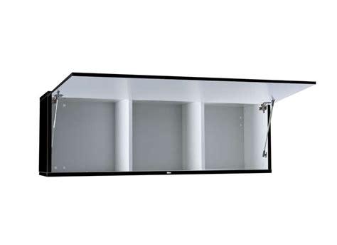 meuble haut cuisine noir laque meuble suspendu mural laqu 233 achatdesign