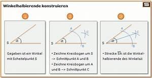 Seitenhalbierende Dreieck Berechnen Vektoren : grundkonstruktionen mittelsenkrechte und winkelhalbierende konstruieren ~ Themetempest.com Abrechnung