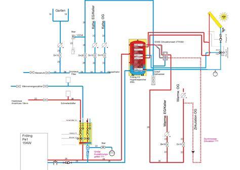 hydraulikplan heizung haustechnikdialog