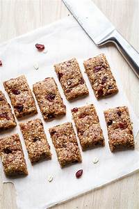 no bake almond cherry granola bars recipe eatwell101