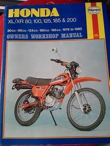 Honda Xl    Xr 80