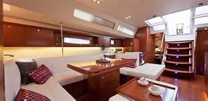 Yacht De Luxe Interieur : yacht voilier privatis de luxe croisi re en c te d 39 azur sur voilier oceanis 58 world oceans ~ Dallasstarsshop.com Idées de Décoration