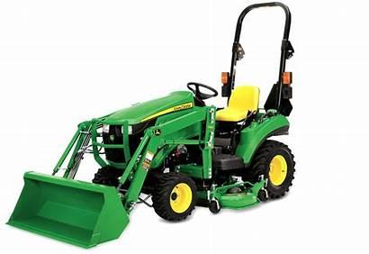 Tractor Compact Deck Deere John 1025r Loader
