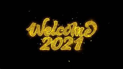 Welcome Written Typography Clip