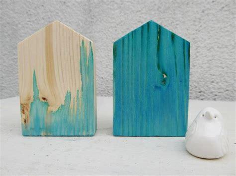 Schöne Dinge Aus Holz by Holzh 196 Uschen Holzhaus Haus Holz T 252 Rkis Blau