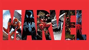Marvel Logo Wallpaper - WallpaperSafari