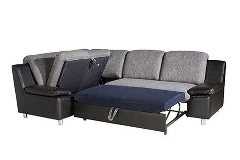 canapé d angle cuir et tissu canapé d 39 angle convertible renato tissu et cuir pu