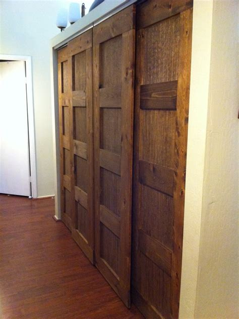 white bypass closet doors for the hallway and master