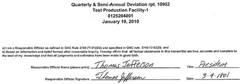 air services hard copy signature attestations