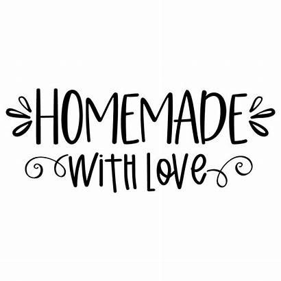 Svg Homemade Quote Cut Freesvgdesigns Kitchen 1170