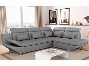 canap gris fonc excellent hga canap scandinave places With tapis bébé avec canapé convertible tiroir