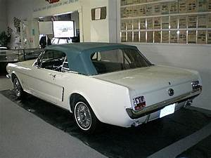 First Ford Mustang Sold to the Public in 1964 Escapes Fire