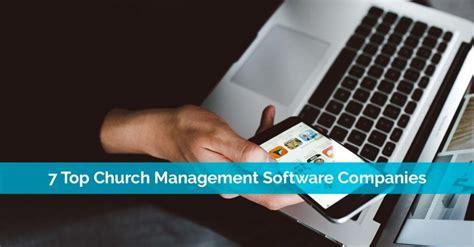 top church management software companies