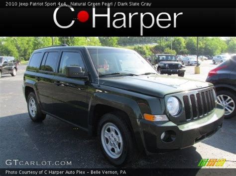 dark green jeep patriot natural green pearl 2010 jeep patriot sport 4x4 dark