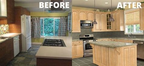 cheap easy kitchen makeovers 25 best images about kitchens before and after on 5252