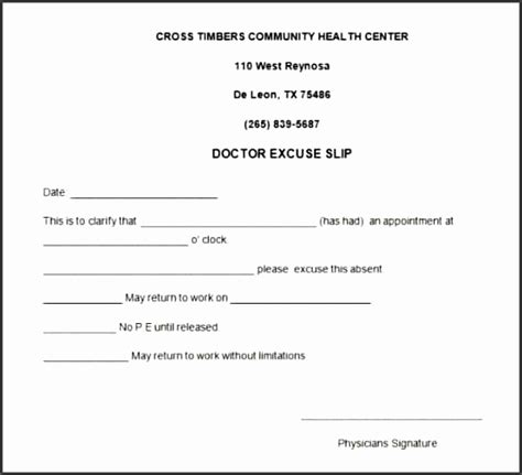 ms word doctor note template sampletemplatess