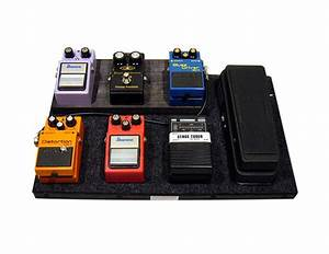 How To Build A Guitar Effects Pedal Board