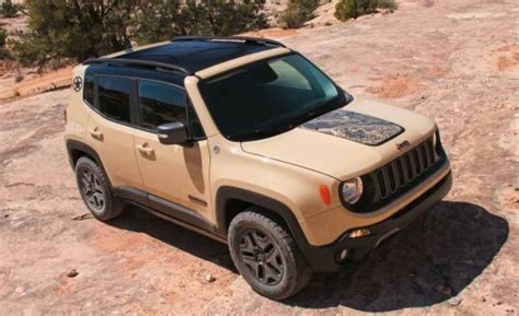 2017 Jeep Renegade Trailhawk Looks Even Cuter Now