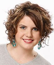 Short Curly Hair Round Face Hairstyles
