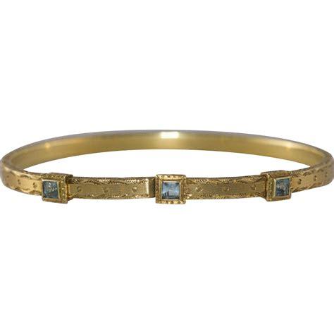 14k Yellow Gold Aquamarine Bangle Bracelet From. Toho Beads. Magnetic Platinum. Full Moon Necklace. Evil Eye Bangle. Man Sapphire. Gold Jewellery Pendant. Green Onyx Necklace. Conductor Watches