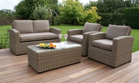 how to buy wicker garden furniture on a budget out out antilles rattan 2 seater sofa set fishpools