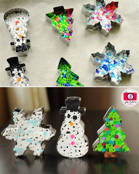 creative christmas ornaments diy  cookie cutters