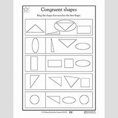 1st Grade, Kindergarten Math Worksheets Congruent Shapes, Kindergarten & 1st Grade Greatschools