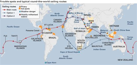 Boat Us Weather Course by Piracy Route Across The World Dangerous Areas Yacht