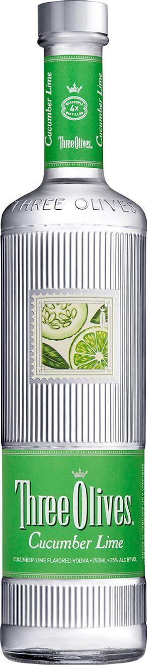 cucumber lime  olives