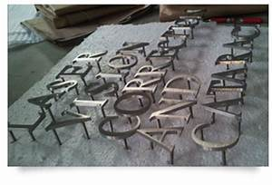 Metal signs ispace signs for Welded metal letters