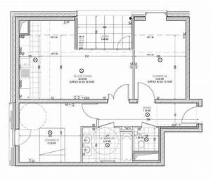 plan appartement t3 50m2 With plan appartement 150 m2 16 plan de maison duplex