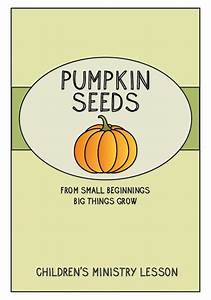 Pumpkin Seeds Children U0026 39 S Ministry Lesson  U2013 Children U0026 39 S Ministry Deals