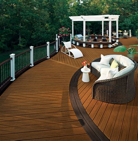 Engineered Wood Outdoor Decking
