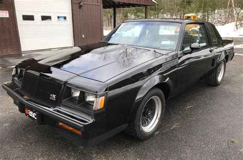 Buick Grand National 1987 by 500 Mile 1987 Buick Grand National Gnx For Sale On Bat