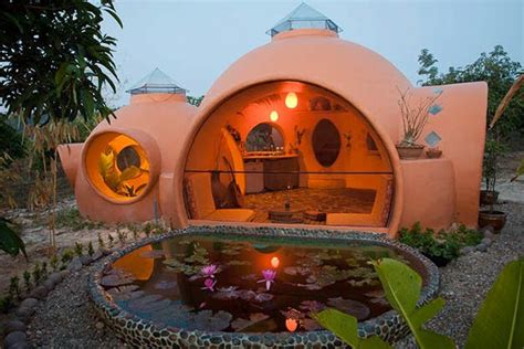 news  article  eco home architecture dome house  steve areen