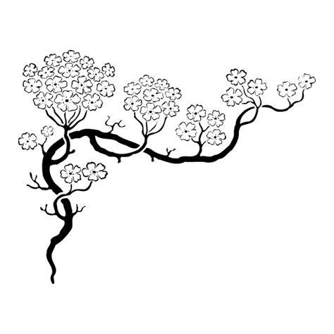 quelle couleur pour une cuisine blanche stickers cerisier japonais achetez en ligne