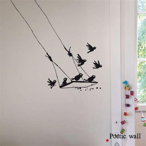 Sticker La Balançoire Poetic Wall   Vinyl wall art, Wall ...