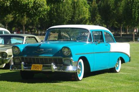 Find Used 1956 Chevy 210 Sedan In Fresno, California