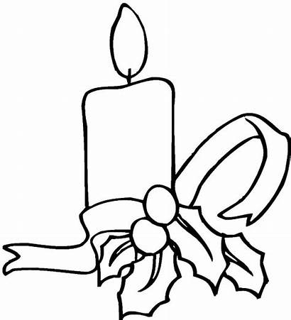 Coloring Candle Decoration Simple Night Tied Colornimbus