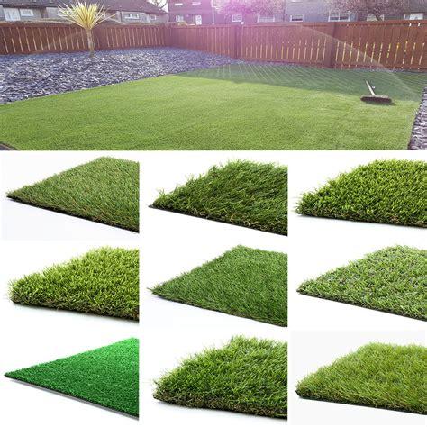 astro turf yard artificial grass astro turf cheap realistic natural green lawn garden carpet new ebay
