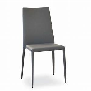 Chaise Salle A Manger Cuir : chaise contemporaine en cuir bea 4 ~ Teatrodelosmanantiales.com Idées de Décoration