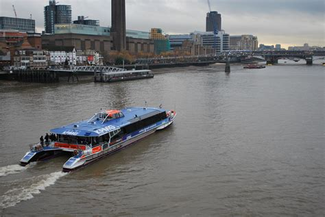 Boat Crash River Thames by Opinions On Thames Clippers