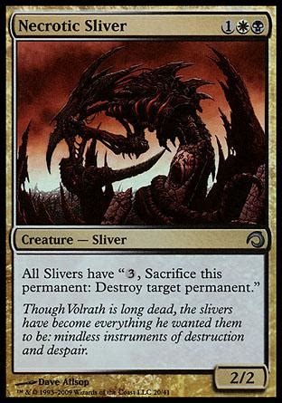magic the gathering sliver deck list find magic cards