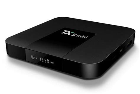 tanix tx3 mini tv box is powered by amlogic s905w soc