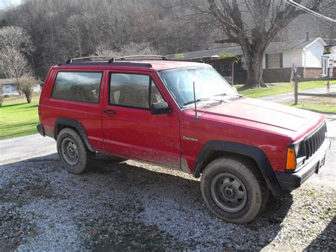 big red jeep big red xj 1996 jeep cherokee specs photos modification
