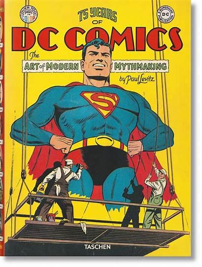 Dc Comics Taschen Years Arte Mitos Modernos
