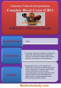 Complete Blood Count  Cbc  For Nurses