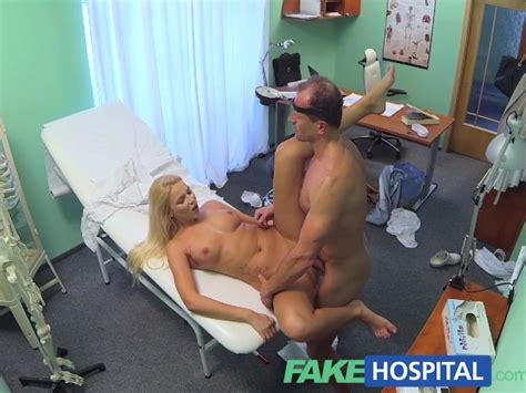fakehospital horny busty blonde receives a creampie from the doctor free porn videos youporn